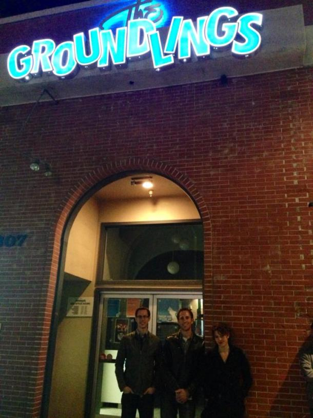 We went to a comedy show one night. The Groundlings is a fantastic little comedy club!